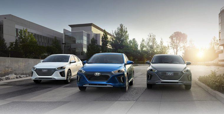 2018 Hyundai Ioniq Lineup