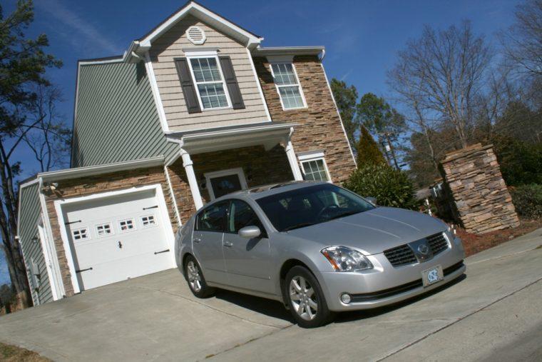 2009 Nissan Maxima in Driveway