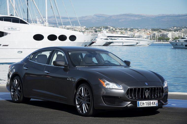 2017 Maserati Quattroporte Gray
