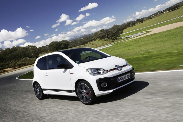 2017 Volkswagen Up GTI White