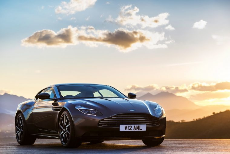 2018 Aston Martin DB11 Gray