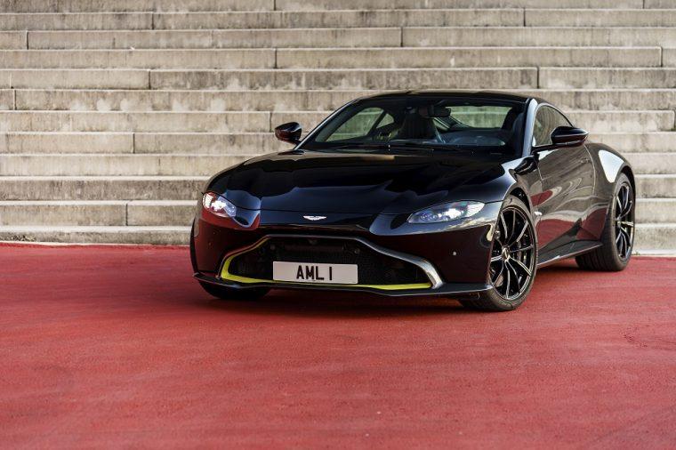 2018 Aston Martin V8 Vantage AML 1 Black