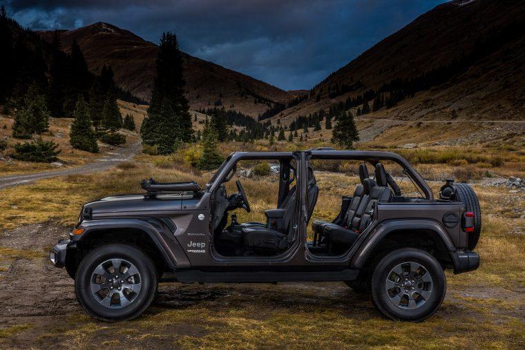 jeep wrangler named a best hardtop convertible of 2018 by us news Jeep Wrangler 4 Door Hard Top 2018 jeep wrangler sahara