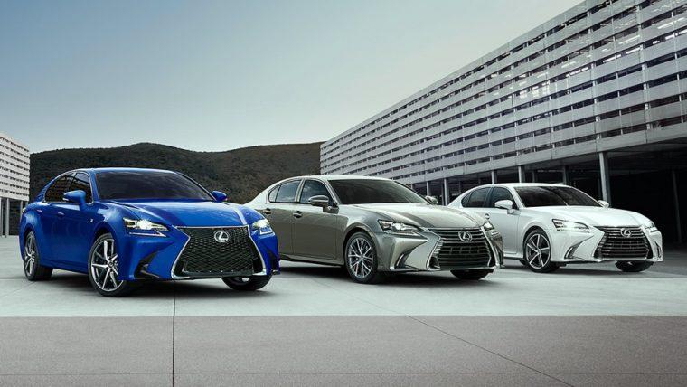 2018 Lexus GS lineup