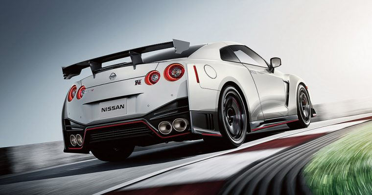 2018 Nissan GT-R drifting engines