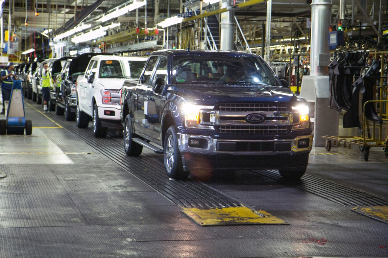 Ford F 150 Production Getting Back Up To Speed After Fire