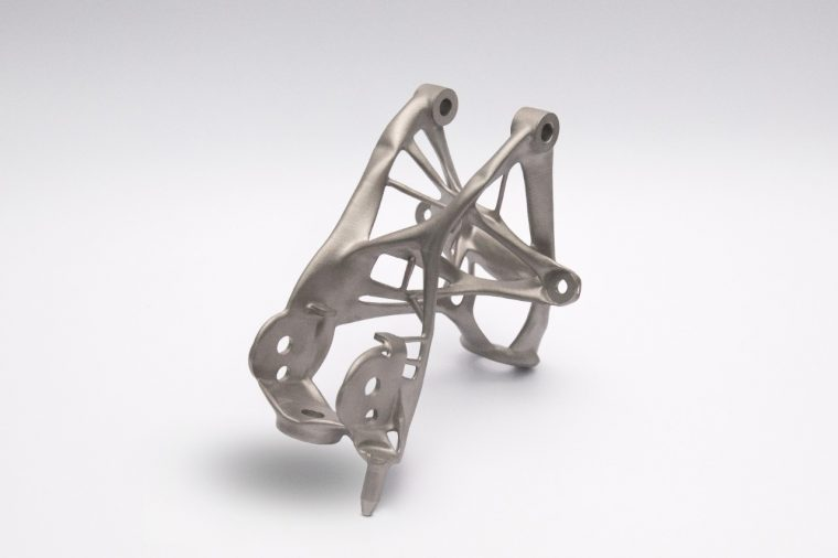 General Motors next-gen 3D printed lightweighting seat bracket proof of concept