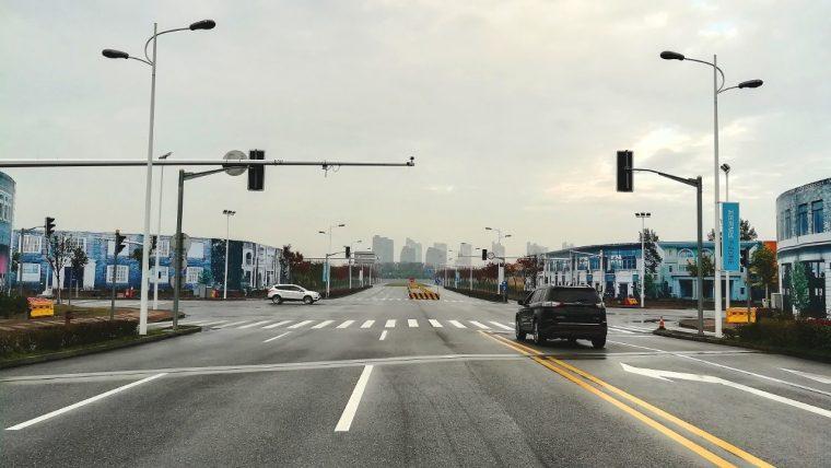 National Intelligent Vehicle Pilot Zone in Shanghai