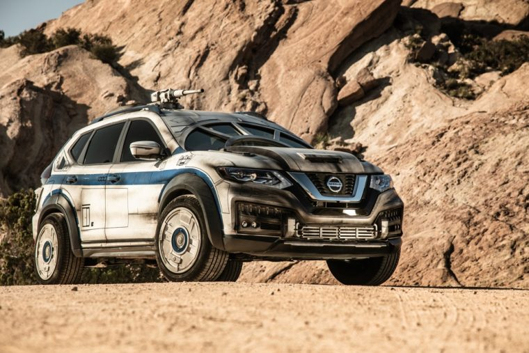 Nissan showcases latest Star Wars-themed show vehicle