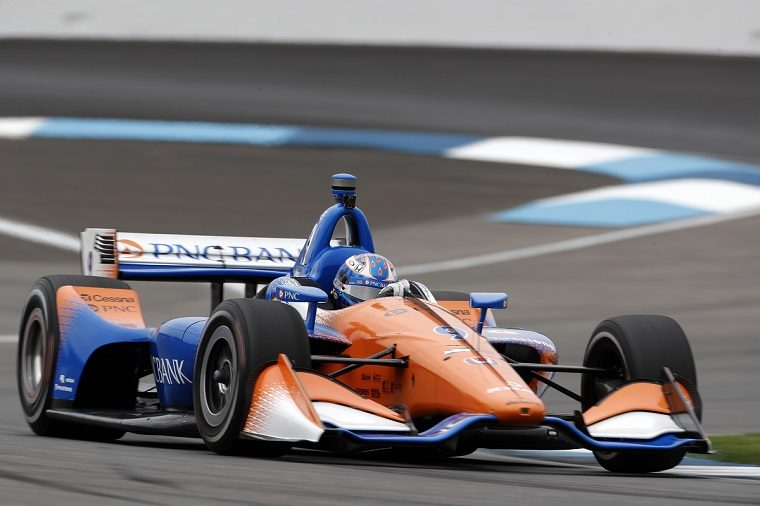 Scott Dixon at the 2018 INDYCAR Grand Prix