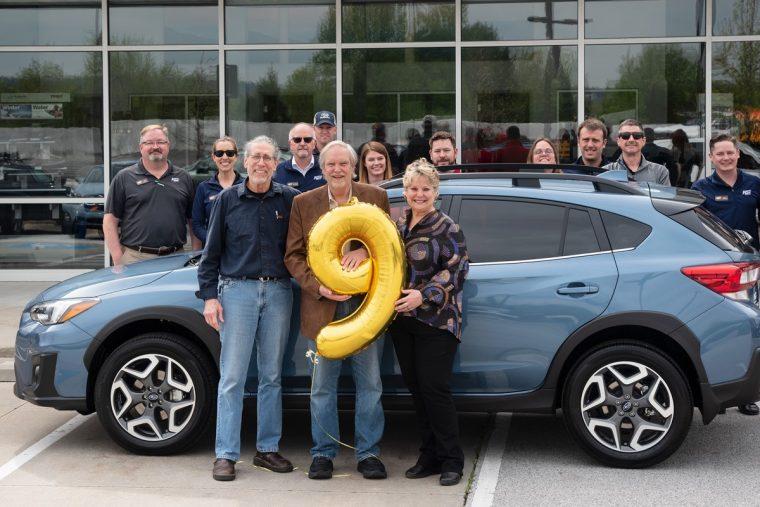 Subaru 9 Millionth Vehicle Sale