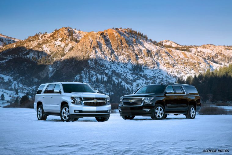 2018 Chevrolet Suburban and Tahoe
