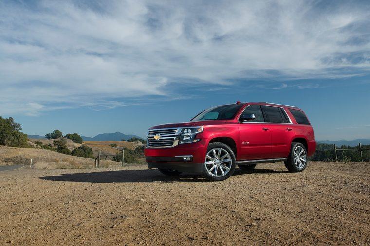 2018 Chevrolet Tahoe exterior full size SUV