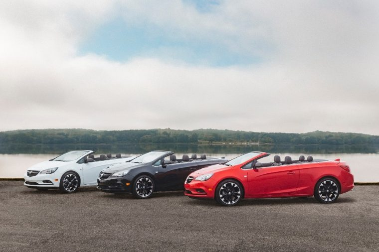 2019 Buick Cascada Sport Touring Convertibles with the Dark Effe