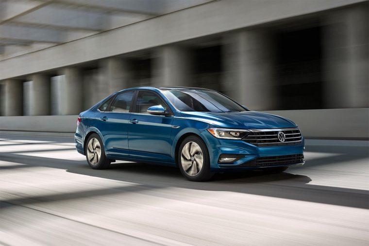 2019 Volkswagen Jetta SEL Premium in Silk Blue Metallic