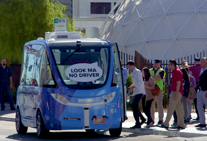 AAA Self-driving shuttle