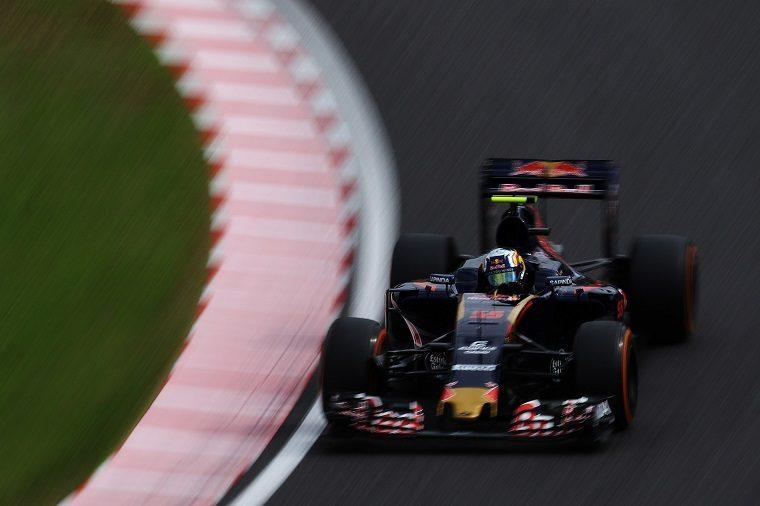 Carlos Sainz in Toro Rosso STR11