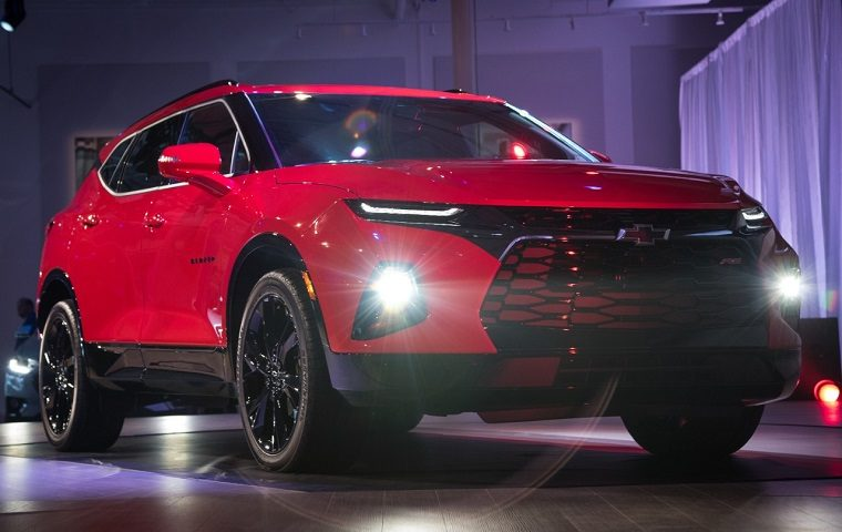 2019 Chevrolet Blazer trim levels