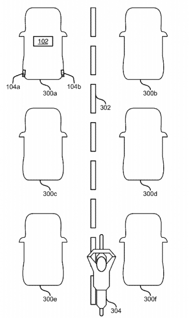 Ford Lane-Splitting Patent