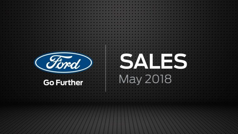 Ford Sales May 2018