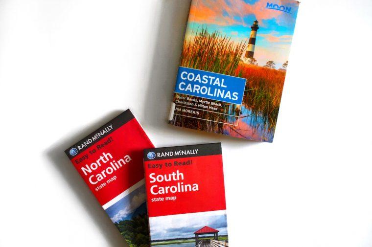 Coastal Carolina Books and Maps