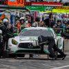 No. 33 Mercedes-AMG Team Riley Mercedes-AMG GT3 pit stop