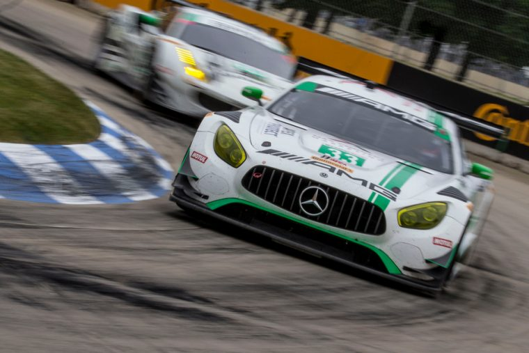 No. 33 Mercedes-AMG Team Riley Mercedes-AMG GT3 racing 2