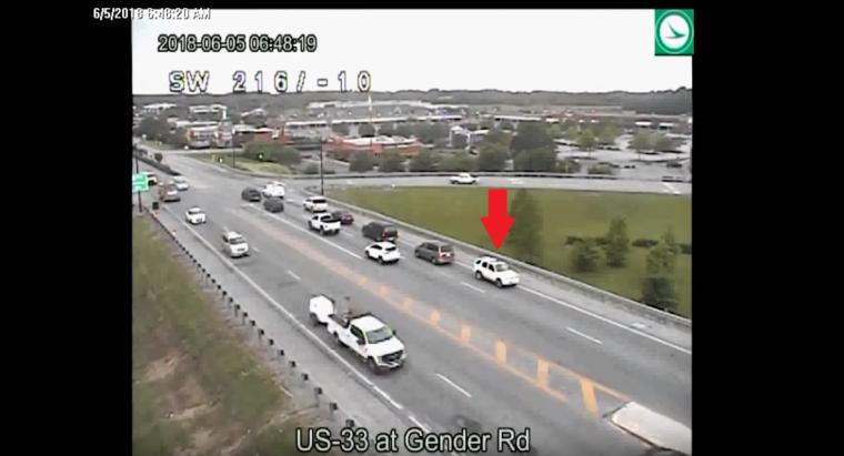 Ohio Department of Transportation reversing drive on US 33 still number 3