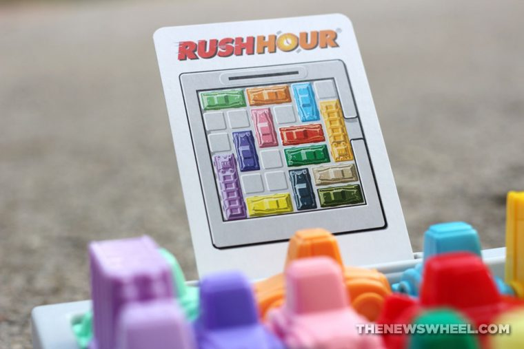 Rush Hour Traffic Jam Logic Game ThinkFun review car puzzle problem solve