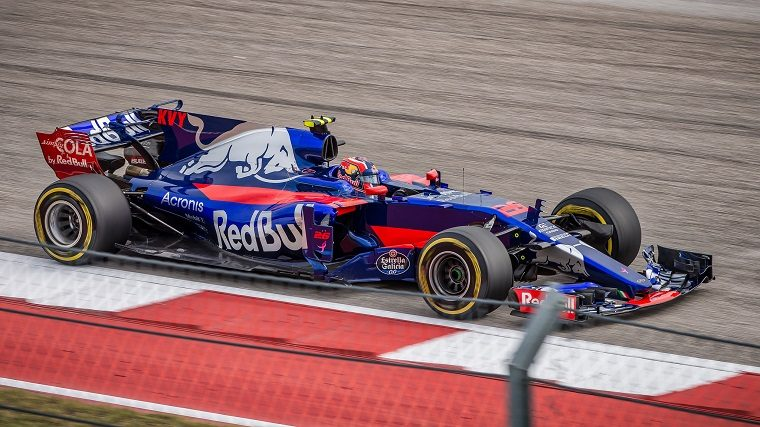 Toro Rosso at 2017 US GP