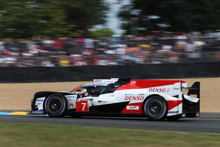 Toyota at 2018 Le Mans