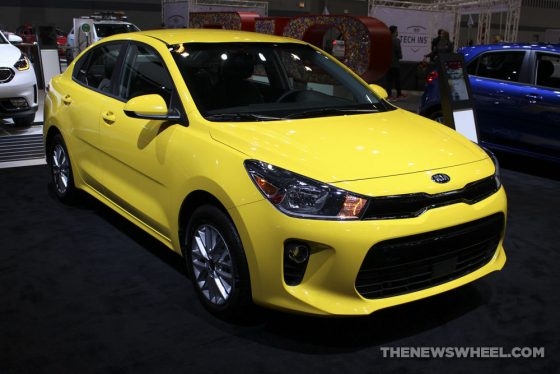 kia rio ranked one of seven best new cars priced below 15 000 the news wheel. Black Bedroom Furniture Sets. Home Design Ideas