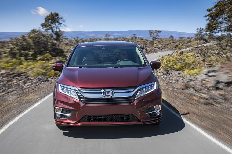 2019 Honda Odyssey exterior