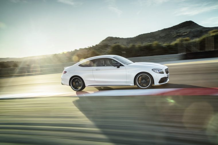 2019 Mercedes-AMG C63 S Coupe side drive