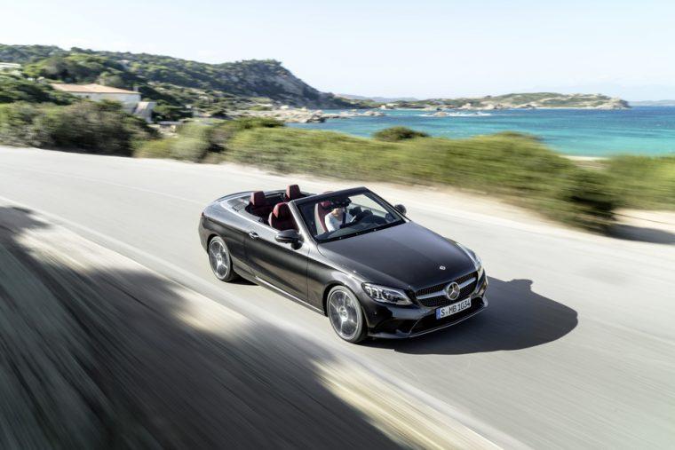 2019 Mercedes-Benz C300 Cabriolet driving front