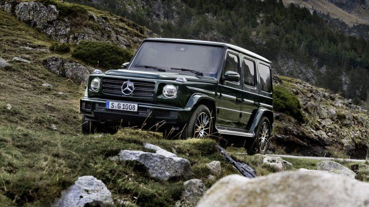 2019 Mercedes-Benz G-Class front 2