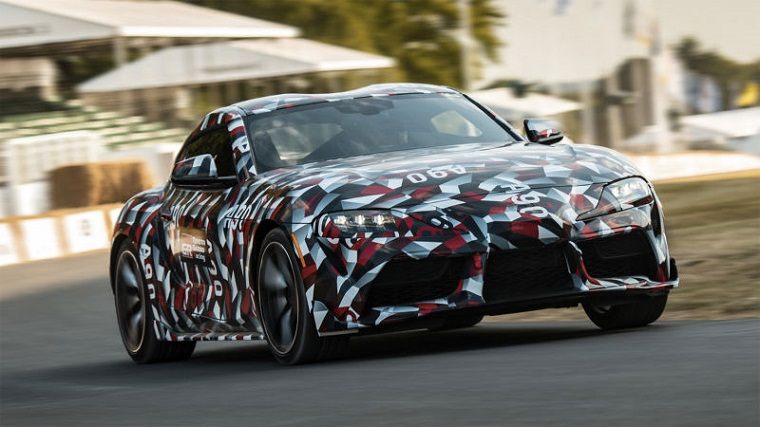 2019 Toyota Supra at Goodwood
