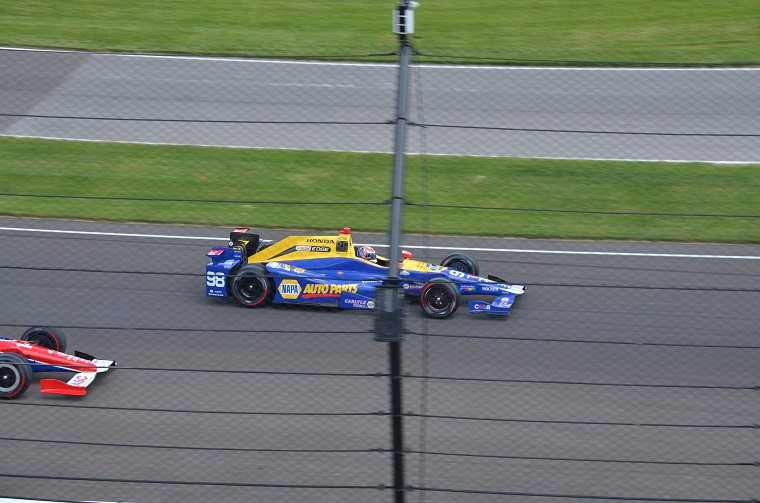 Alexander Rossi at the 100th Indy 500