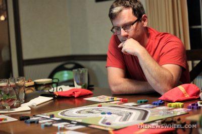 Automobiles review AEG car racing board game motorsports gearhead fun buy