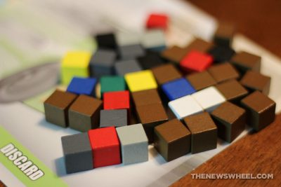 Automobiles review AEG car racing board game motorsports gearhead fun cubes