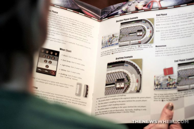 Automobiles review AEG car racing board game motorsports gearhead fun instructions directions