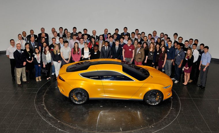 Ford Evos Concept with Blue Oval Scholars