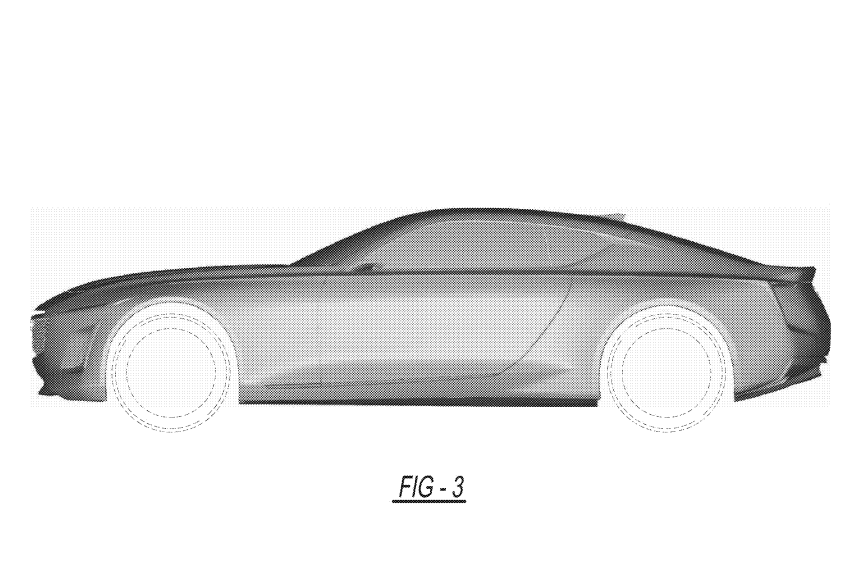 new patent reveals cadillac ct5 coupe design