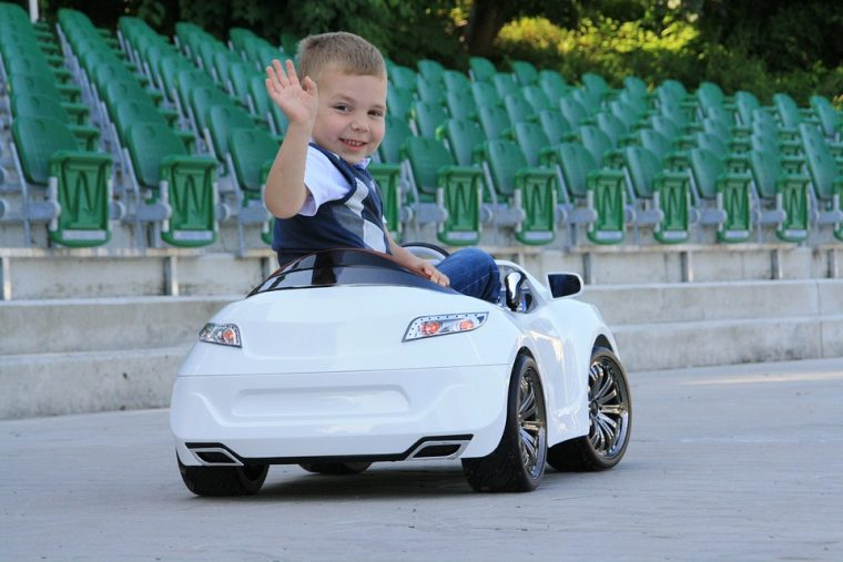 Kids With Disabilities Receive Special Motorized Cars From