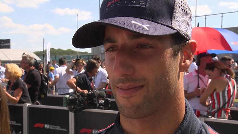 Daniel Ricciardo after 2018 British GP