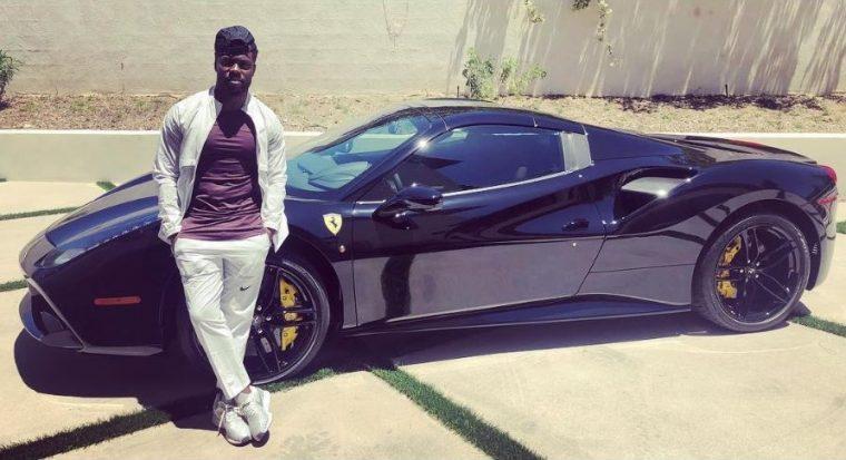 Ferrari 488 GTB black Kevin Hart Instagram