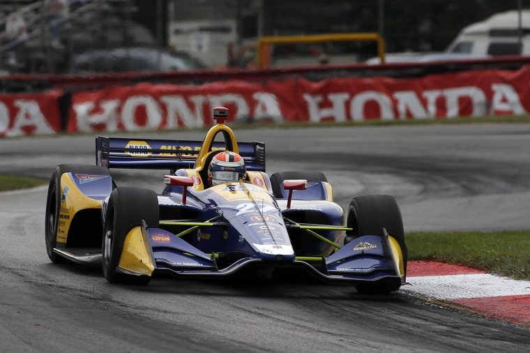Alexander Rossi at 2018 Indy 200