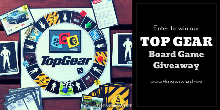 Top Gear Board game Giveaway
