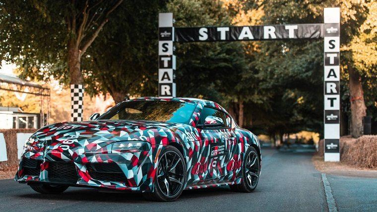 Toyota Supra at Goodwood