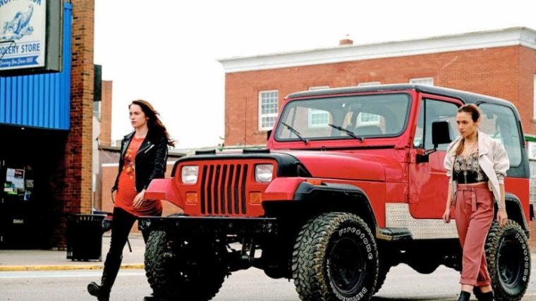 Wynonna Earp Red 1992 Jeep Wrangler Waverly Earp